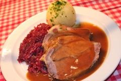 Wirtschaft zum Schmied Oberstdorf - Schweinebraten