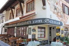 Wirtschaft zum Schmied Oberstdorf - Außenansicht